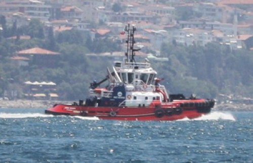 Med Marine delivered the 6th 60 TBP ASD tugboat to Izmit Bay.