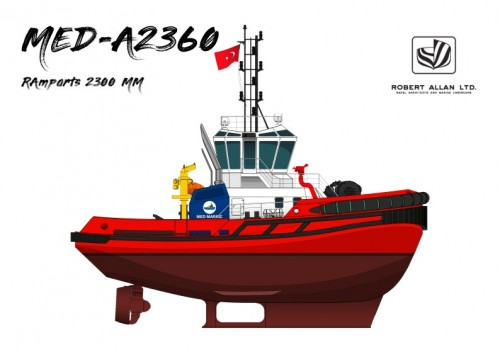 Second Tugboat from Med Marine to South America in 2019