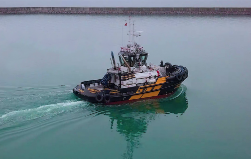 Successful Delivery of MED-A2360 Model Tug to its Turkish Operator